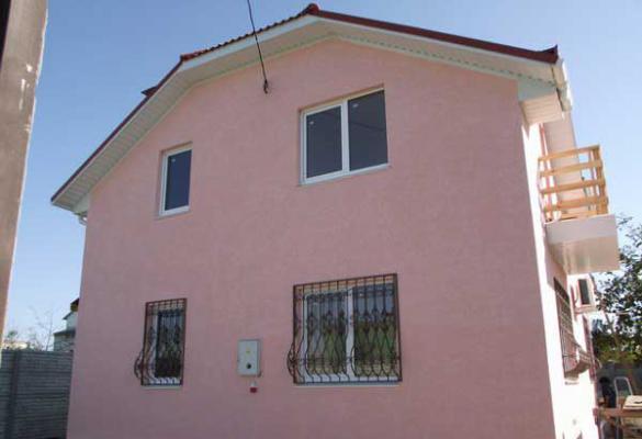 Построенный частный дом